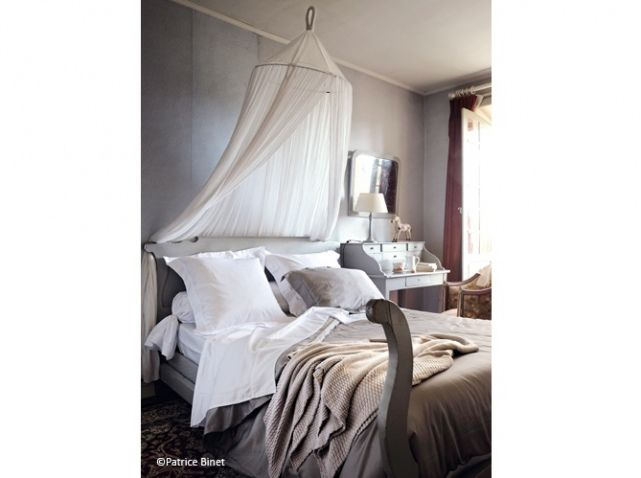 Like The Bed Posta. Find This Pin And More On Country French Bedrooms ...