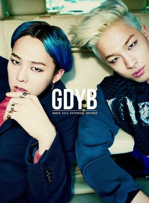 g-dragon   Taeyang, in Paris 2014 ♥ #bigbang