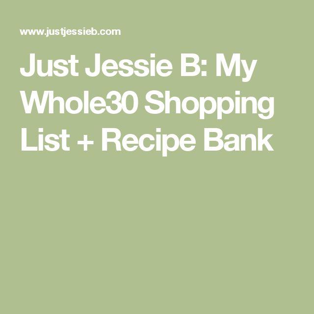 As 25 melhores ideias de Whole30 shopping list no Pinterest - shopping lists