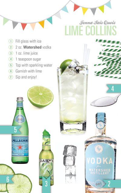 Lime Vodka Collins Recipe