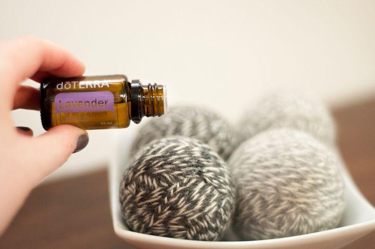 diy fabric softener with essential oils