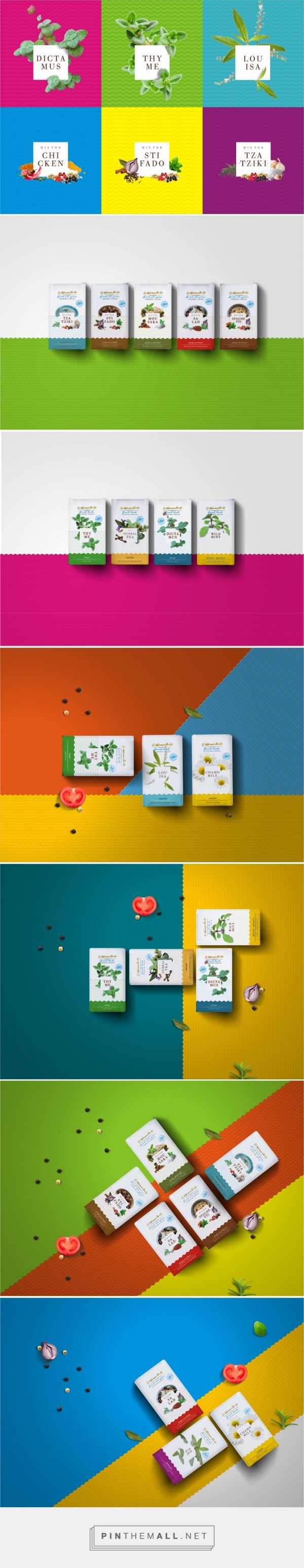 Leftgraphic - Kabriani's Family Greek mix spices packaging by Lefteris Panagoulopoulos / Leftgraphic