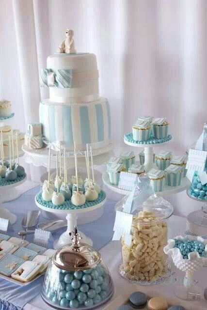Cute baby boy themed baby shower