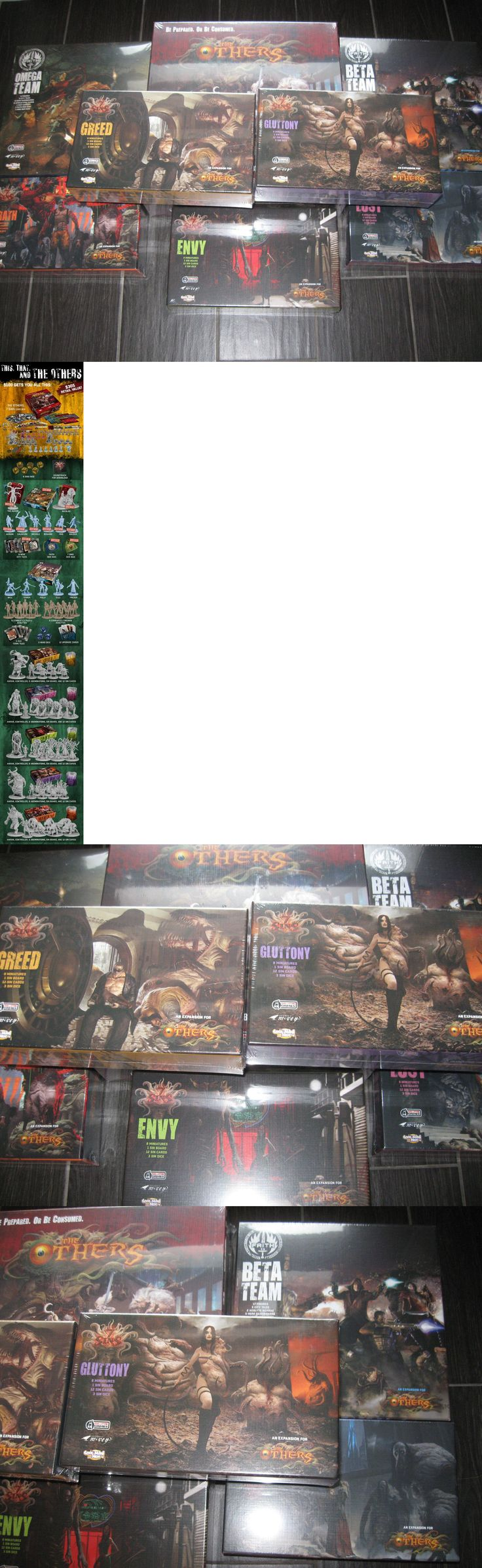 Contemporary Manufacture 180349: The Others 7 Deadly Sins Board Game Faith Pledge Cmon Kickstarter Exclusive Ks -> BUY IT NOW ONLY: $274.75 on eBay!