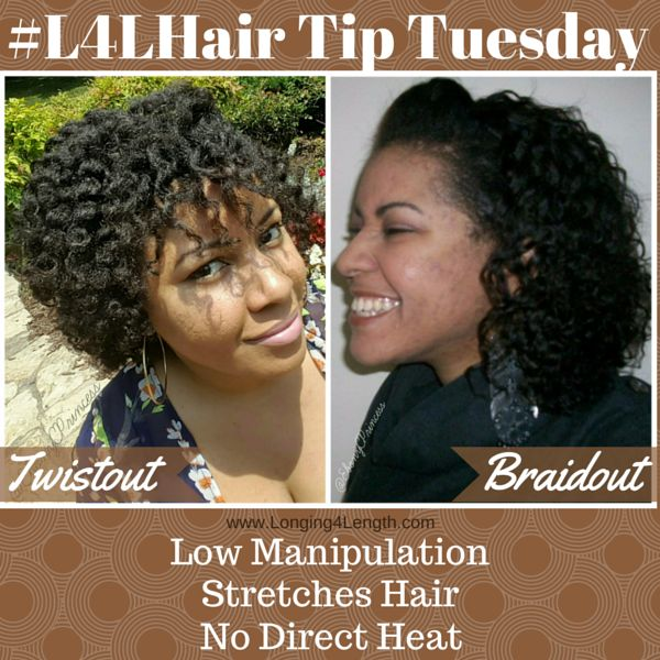 twist out vs braid out, twist out versus braid out natural hair - Longing 4 Length