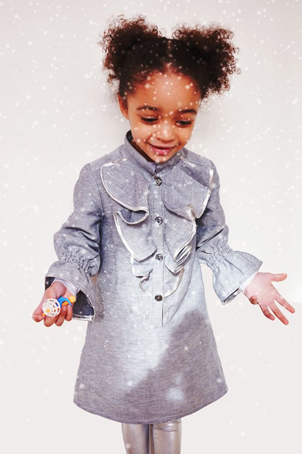 12 of the best handmade Christmas outfits for girls | Needle and Ted