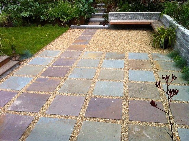 Amazing Simplistic Form   Patio Surfaces Ideas