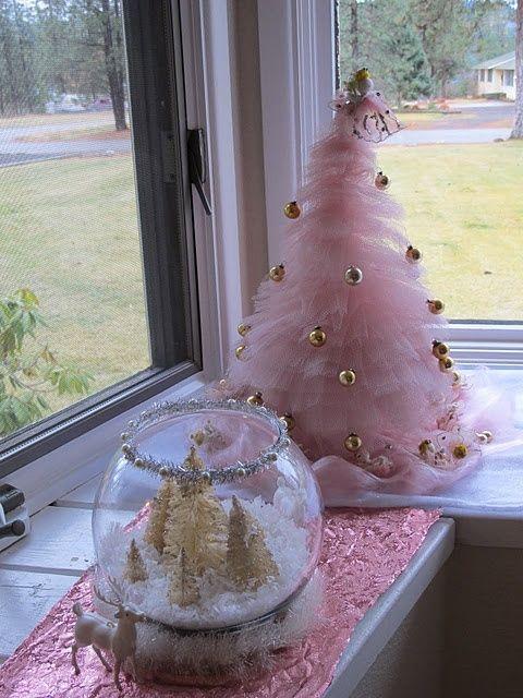 Dream rooms: Χριστούγεννα και διακόσμηση σε χρώμα ροζ
