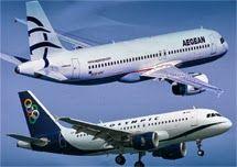 Fusion von Aegean Airlines und Olympic Air