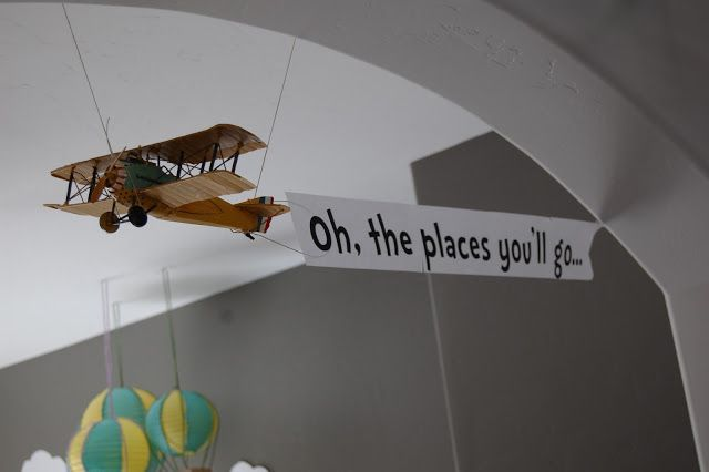 Oh, the Places You'll Go party banner