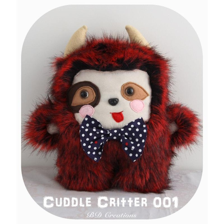 $55.00 Cuddle Critter 001 by bdcreations on Handmade Australia