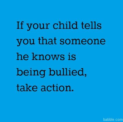 Great article about how parents can get involved in stopping bullying at schools.