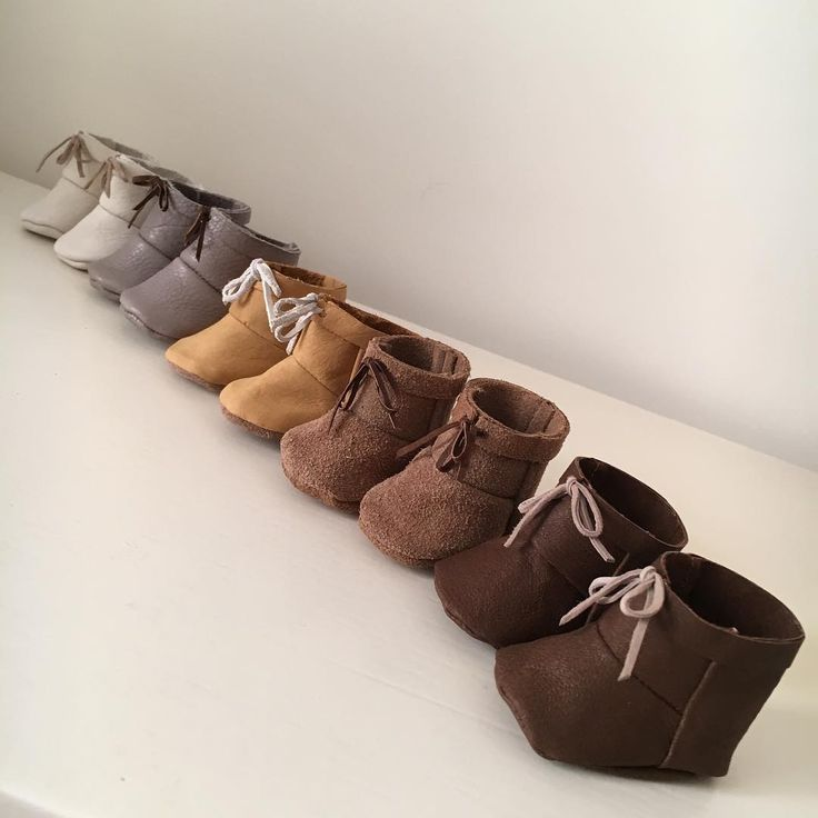Recycle leather doll boots