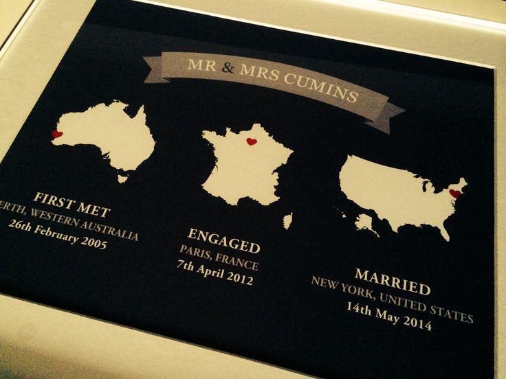 Such an awesome wedding present idea!