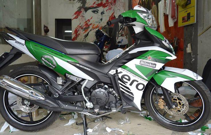 Tem Exciter 135 Mẫu Heineken 2