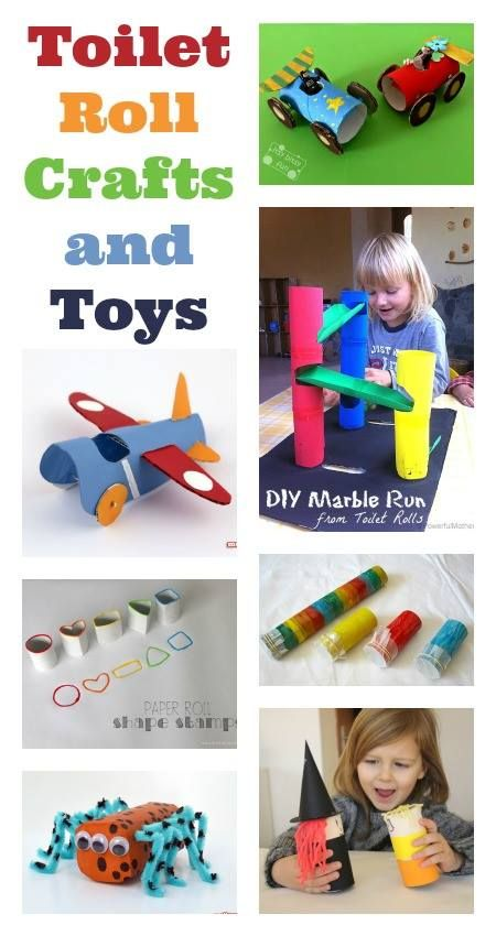 A super collection of things you can make and do with empty toilet roll tubes!