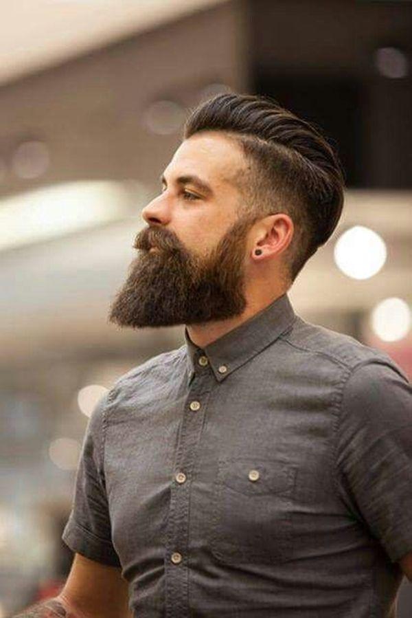 Viral Undercut Hairstyles Beard Long Beard Styles Beard Styles Hair And Beard Styles