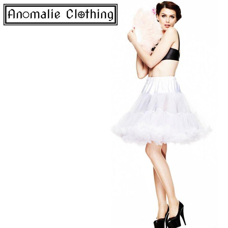Short White Hell Bunny Petticoat