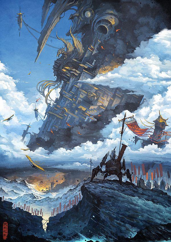 The rebellion of heaven by Zhichao Cai | InspireFirst via PinCG.com