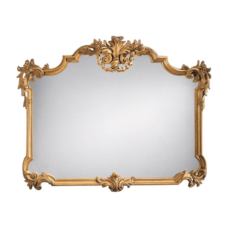 18th Century Venetian Style Carved Gilt Overmantle Mirror