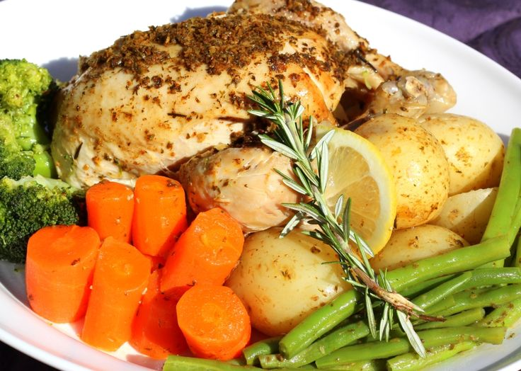 Healthy 'Roast;' Chicken | Devil of a Cookbook | Thermomix