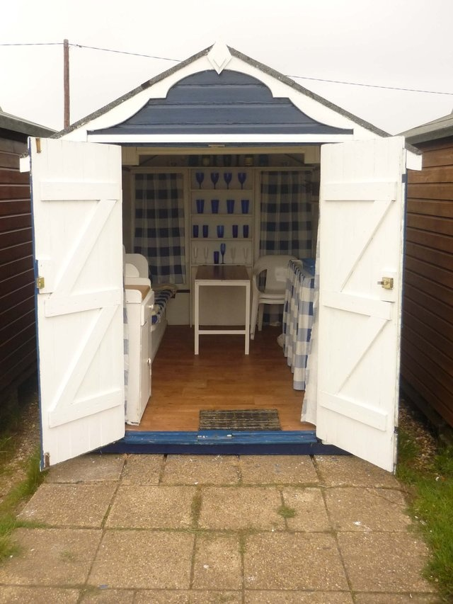 Can you beat a classic British beach hut for some cosy practicality when the sun is shining?