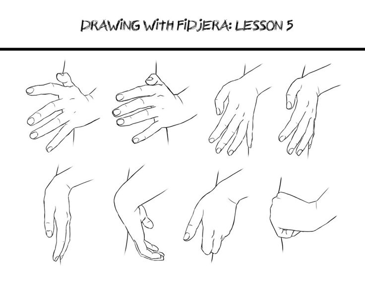 #Poses #Hand Drawing with fidjera: Lesson 5 by fidjera on DeviantArt