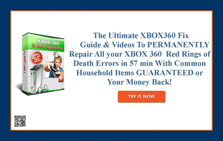The Ultimate XBOX360 Fix Guide & Videos To PERMANENTLY Repair All your XBOX 360  http://9d29615dve6y0wftt9geqlr7j3.hop.clickbank.net/?tid=ATKNP1023