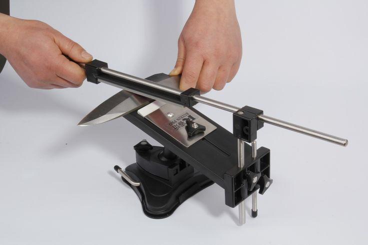 Modernizované verze s pevným úhlem Brousek na nože Profesionální kuchyňský nůž Sharpener soupravy systém 4 brousků