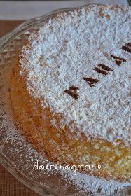 DOLCISOGNARE: Torta Paradiso genovese