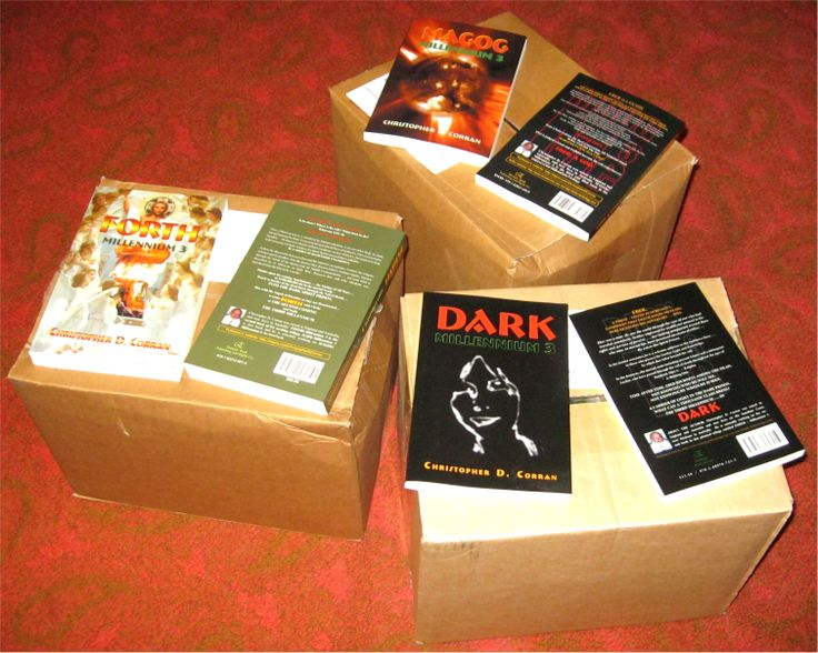 Of course, every author has to have a supply of his own books on hand !