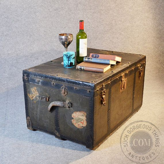 1000 Images About Urban And Industrial On Pinterest Vintage Coffee Tables Trunks And Trunk