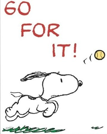Go For It Snoopy ♡ See More #PEANUTS #SNOOPY pics at www.freecomputerdesktopwallpaper.com/peanuts.shtml