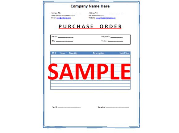The 25 best ideas about Letter Sample – Purchase Order Letter Template