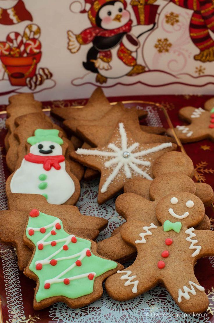 Gingerbread koekjes - Heerlijk geurende kerstkoekjes. Perfect om te versieren met royal icing.