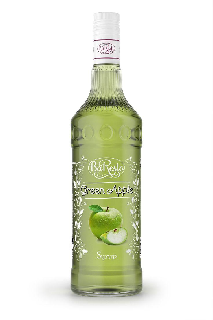 Сироп Зеленое яблоко