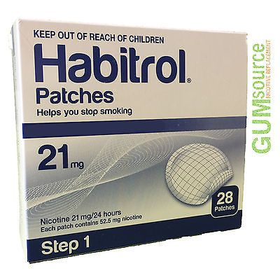 Patches: Habitrol Step 1, Transdermal Nicotine Patch 21Mg, 2 Boxes 56 Patches -> BUY IT NOW ONLY: $75.95 on eBay!