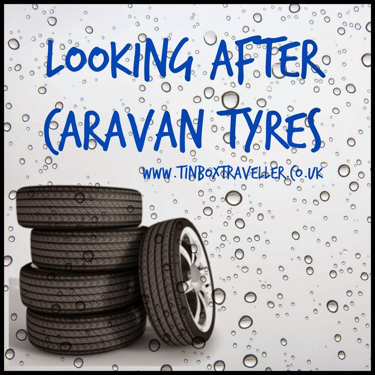 It's so important to check your car and caravan tyres before you begin the caravanning season. Here's some tips from Mr Tin Box