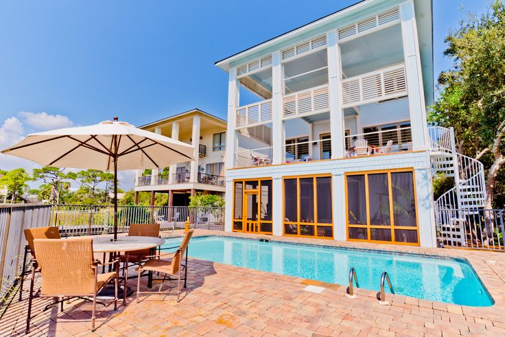 You'll think you're in paradise at this Orange Beach, AL pool!