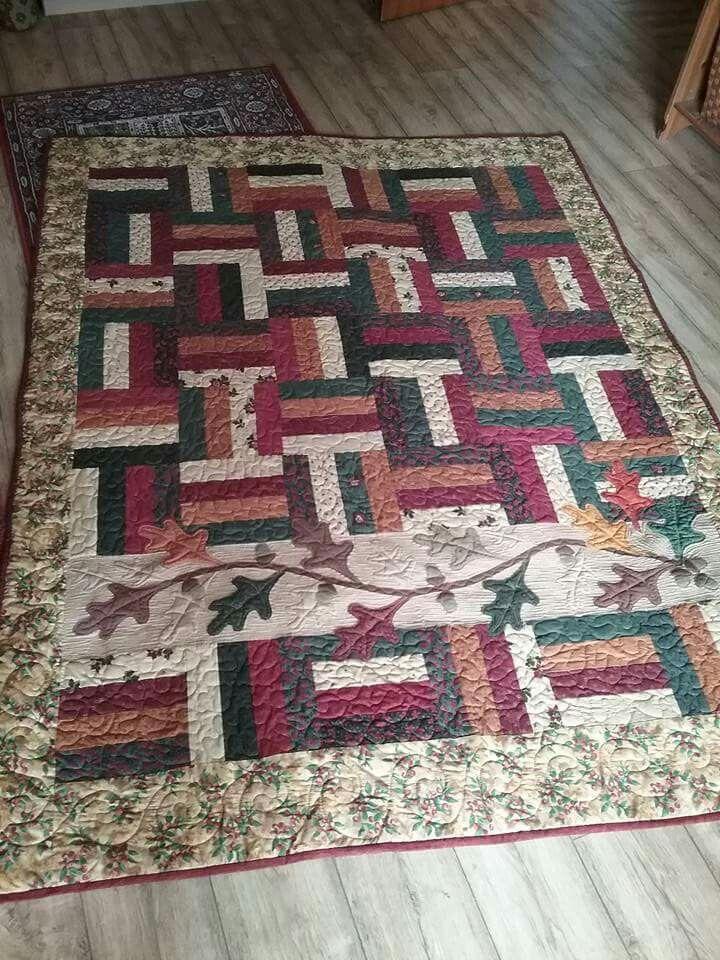 My own design. 7 Oaks. Fabrics Kansas Troubles Prairie Cactus