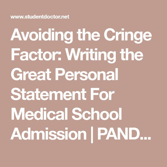 Mer enn 25 bra ideer om Personal statement medical på Pinterest - personal statement for medical school