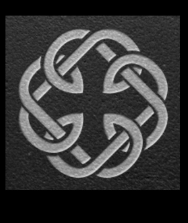 father daughter Celtic knot