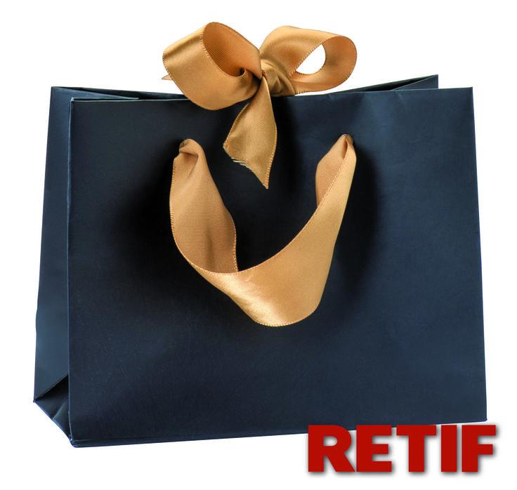 Bolsas para regalo en Retif.