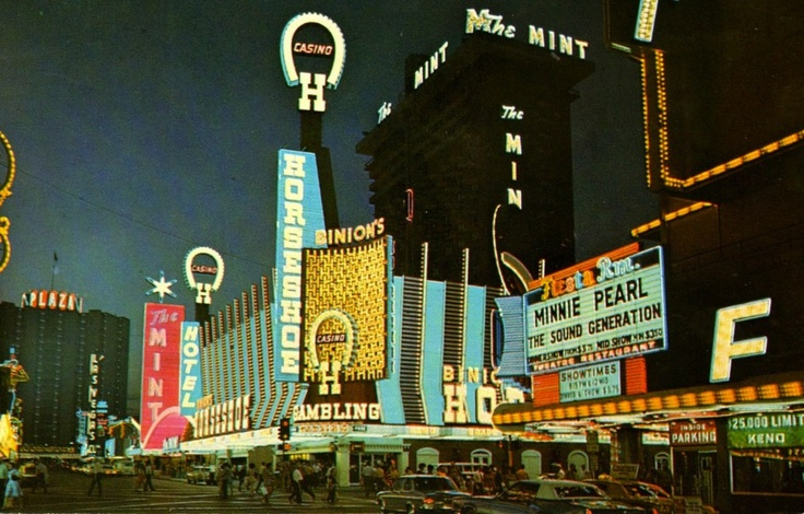 Freemont Street in the 1970′s!