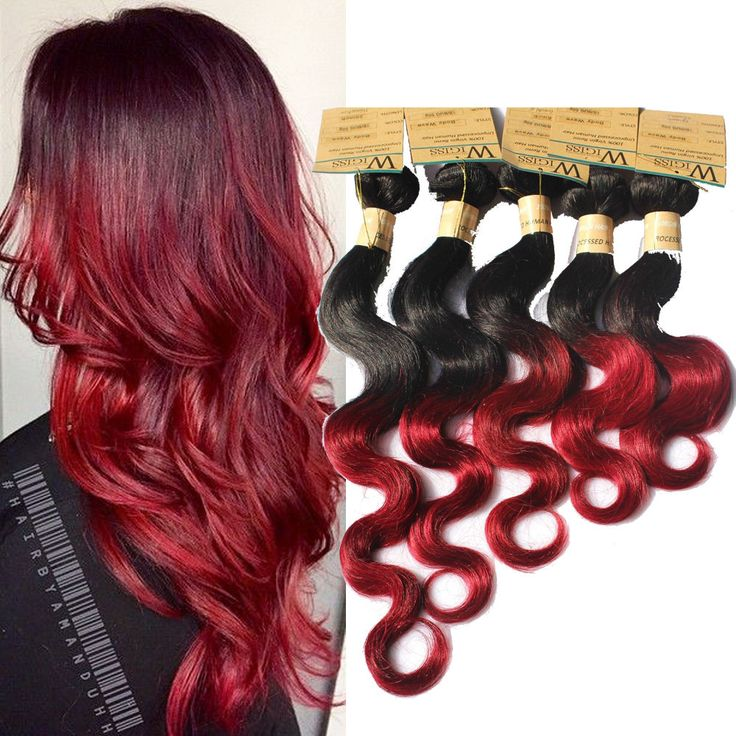 Burgundy ombre body wave 50gbundle high quality human hair burgundy ombre body wave 50gbundle high quality human hair extension weaves high quality real human hair extension pinterest human hair extensions pmusecretfo Choice Image