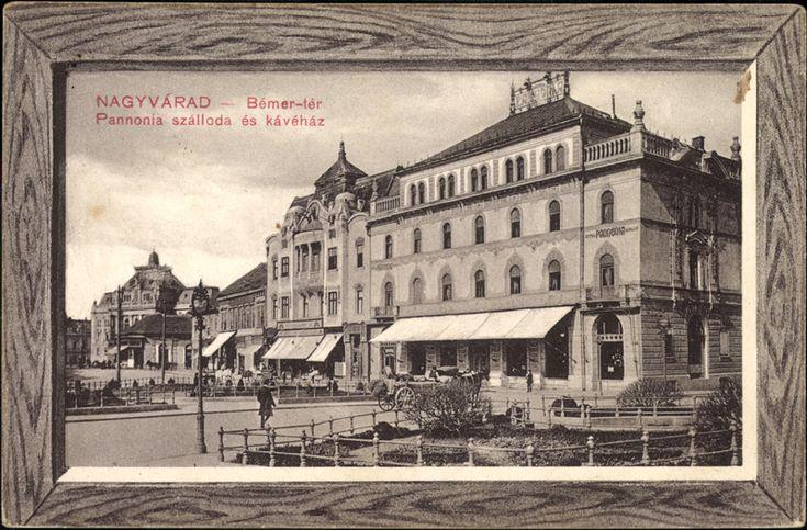 """<a class='trdeflink' href=""""http://postcards.arcanum.hu/hu/71993"""">A Pannónia szálló kívülről</a>, 1910"""
