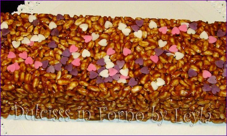 Salame al cioccolato con riso soffiato: goduriosisssssimo, ricetta dolce Torta di Mars Dulcisss in forno