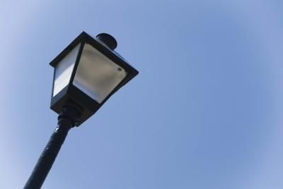 So easy!  Have to replace our dated, broken fixtures. How to Replace an Outdoor Lamp Post Fixture