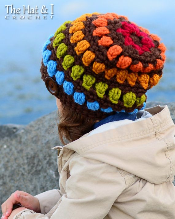 CROCHET PATTERN Bohemian Nights Hat a crochet por TheHatandI