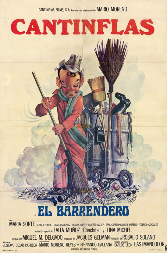 Movie Poster of the Week: The Posters of Cantinflas on Notebook | MUBI